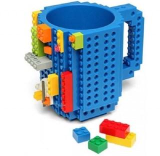 Кружка «LEGO» с конструктором синяя Минск +375447651009