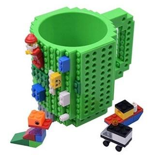 Кружка Лего (LEGO) зеленая купить в Минске +375447651009