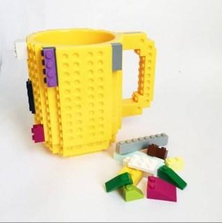 Кружка Лего (LEGO) желтая Минск +375447651009