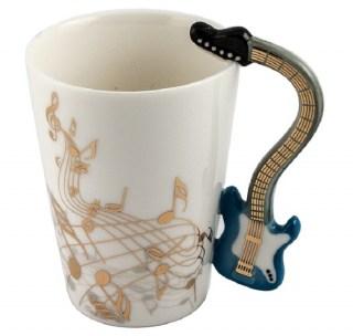 Кружка с ручкой-гитарой «Мелодия» купить в Минске +375447651009