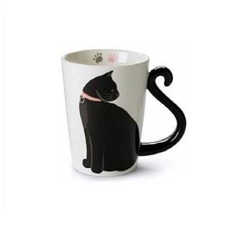 Кружка с ручкой-хвост «Черная кошка» Минск +375447651009