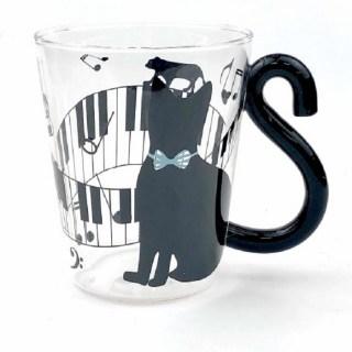 Кружка с ручкой-хвост «Музыкальная кошка» Минск +375447651009