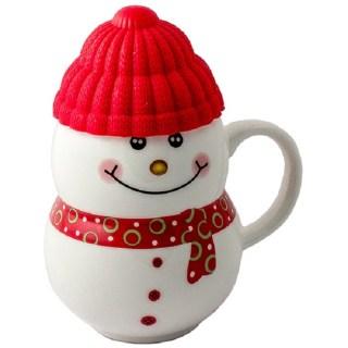 Кружка «Снеговичок» красная шапка купить в Минске +375447651009
