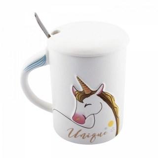 Кружка «Волшебный Единорог» с ложкой купить в Минске +375447651009