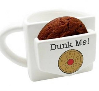 Кружка с кармашком для печенья «Dunk me!» Минск +375447651009