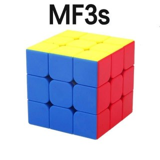 Скоростной кубик рубика MoFang JiaoShi MF3S Цветной пластик от MoYu Минск