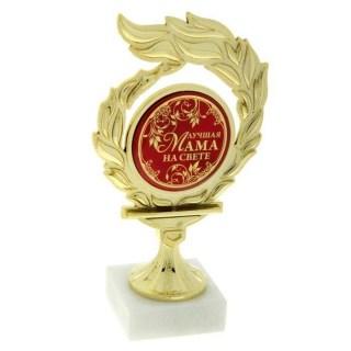 Кубок на камне «Лучшая мама на свете» купить Минск
