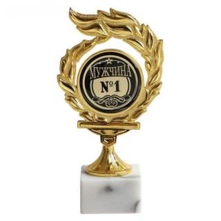 Кубок на камне «Мужчина № 1» купить в Минске +375447651009