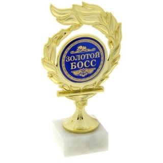 Кубок на камне «Золотой босс» купить Минск