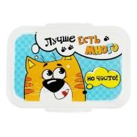 Ланч-бокс для еды «Лучше есть много» купить в Минске +375447651009
