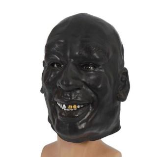 Латексная маска «Боксер» черная купить Минск +375447651009