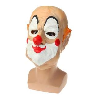Карнавальная латексная маска «Клоун» купить Минск +375447651009