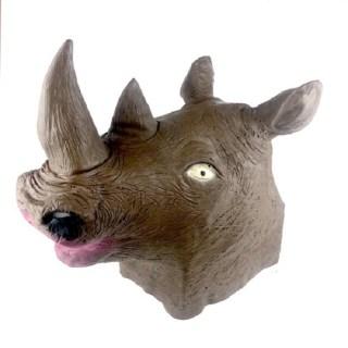 Латексная маска «Носорог» купить в Минске +375447651009