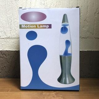 Лава лампа «BLACK» синий воск 41 см купить Минск
