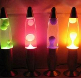 Лава лампа фиолетовая 35 см. купить в Минске +375447651009