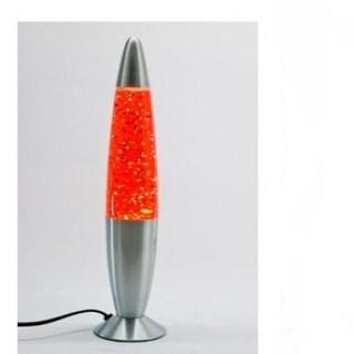 Лава лампа с блестками красная 41 см купить в Минске +375447651009