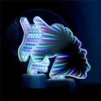 Led Светильник «Зеркальный Единорог» с эффектом туннеля Минск +375447651009