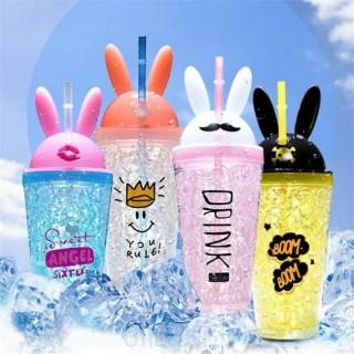 Ледяной стакан ICE CUP «DRINK» с трубочкой Минск +375447651009