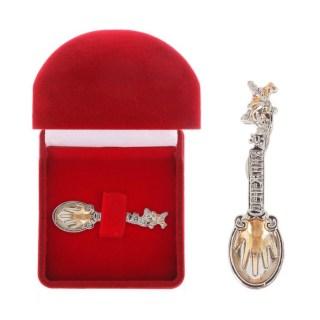Ложка-талисман «Денежная лягушка» купить в Минске +375447651009