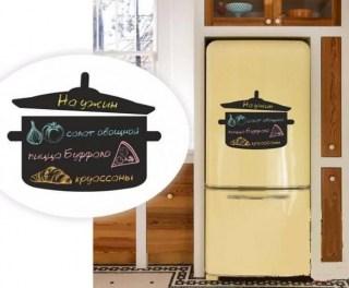 Магнитная доска на холодильник кастрюля купить в Минске +375447651009