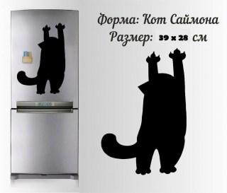 магнитная доска на холодильник кот саймона купить Минск +375447651009