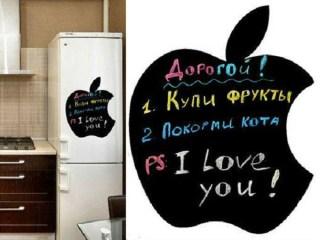 Магнитная доска на холодильник Яблоко (Apple) купить в Минске +375447651009