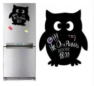 Магнитная доска на холодильник «Сова» купить в Минске +375447651009