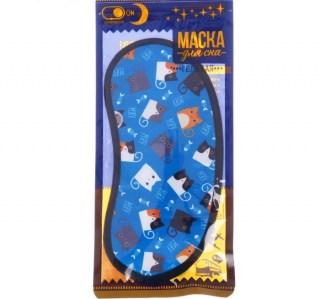 Маска для сна «Котики» гелевая  купить Минск +375447651009