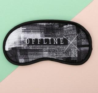 Маска для сна «Off line» гелевая купить Минск +375447651009