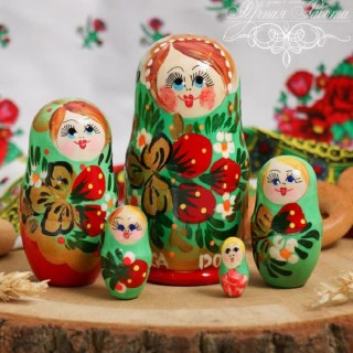 Матрешка «Краса» купить в Минске +375447651009