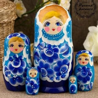 Матрешка «Марья краса» 5 кукол купить в Минске +375447651009