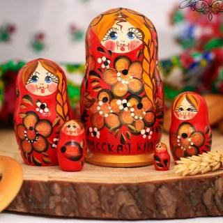 Матрешка «Святослава» 5 кукол купить в Минске +375447651009