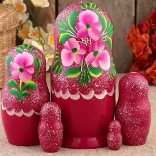 Матрешка «Забава» 5 кукол купить в Минске +375447651009