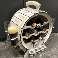 Мини-бар бочка для пива «Good Beer» белая купить Минск +375447651009