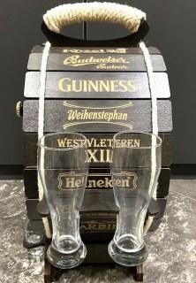Мини-бар бочка для пива «Good Beer» цвет венге купить Минск +375447651009