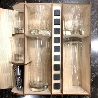 Мини бар «PREMIUM» на 2 персоны в деревянной коробке Минск +375447651009