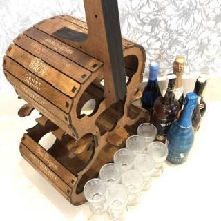 Мини бар «Виолончель» с набором бокалов Минск +375447651009