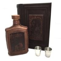 Минибар в кожаной шкатулке «Старый город» 3 предмета купить в Минске +375447651009