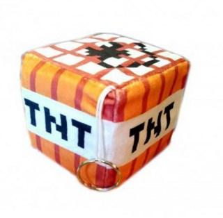 Мягкая игрушка «Куб TNT» Minecraf купить в Минске +375447651009