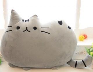 Мягкая игрушка Пушин (Cat Pusheen) серый купить в Минске +375447651009