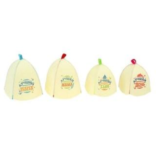 Набор банных шапок «Семья» купить Минск