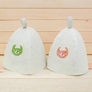 Набор банных шапок «Гости» 2 шт. купить в Минске +375447651009