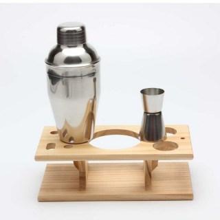 Набор бармена на деревянной подставке «Норман» купить в Минске +375447651009