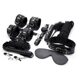 Набор BDSM «Tender» 10 предметов черный 18+ купить в Минске +37544765009