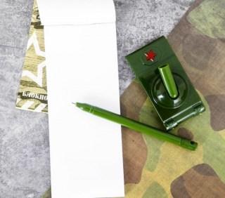 Набор:блокнот+ручка с подставкой «100 % мужик» купить в Минске +375447651009