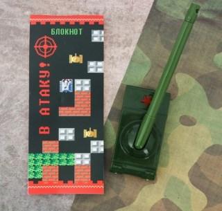 Набор:блокнот+ручка с подставкой «В атаку» купить в Минске +375447651009