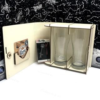 Набор бокалов для пива «Пиво- это витамины» цвет слоновая кость Минск +375447651009
