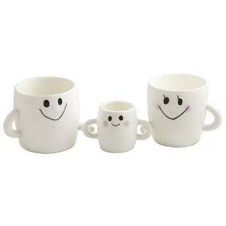 Набор чашек «Семья» в подарочной упаковке 3 в 1 купить