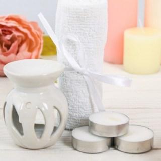 Набор для ароматерапии «Нежность» белый купить в Минске +375447651009