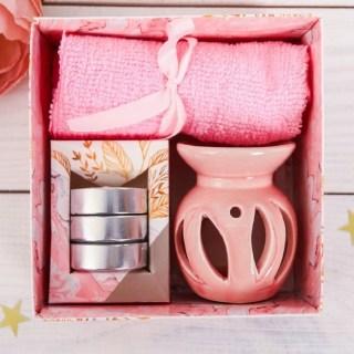 Набор для ароматерапии «Нежность» розовый купить в Минске +375447651009